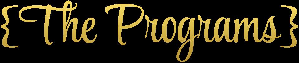 theprograms